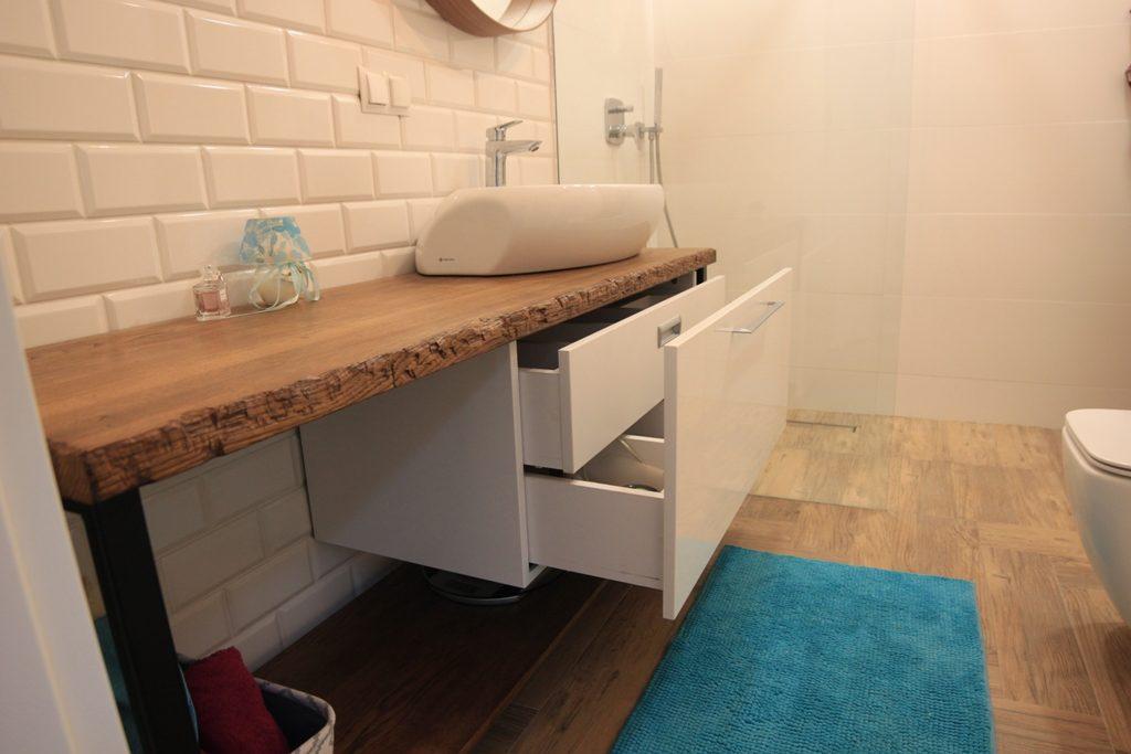 Drewno W łazience Pueblo Sc Meble Kuchenne Szafy