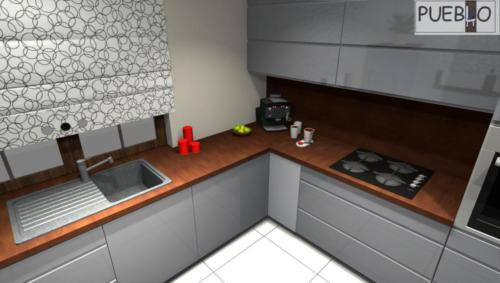 projekt kuchni 184/8