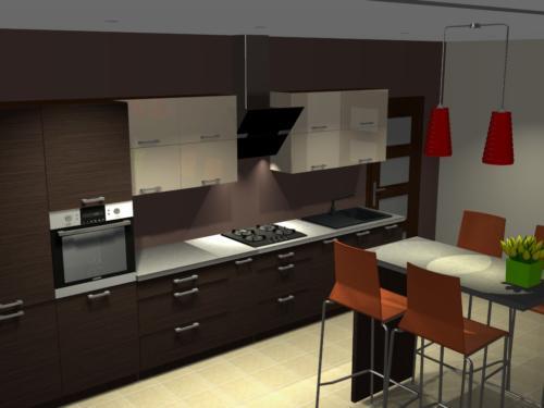 projekt kuchni 7
