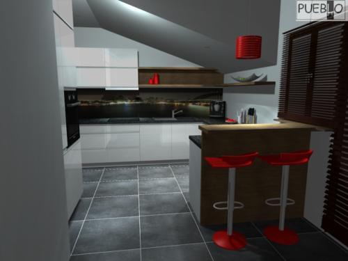 projekt kuchni 152/8