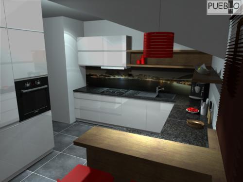 projekt kuchni 155/8