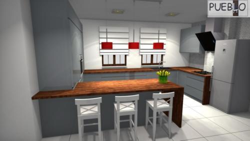 projekt kuchni 164/7